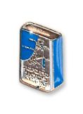 souvenirs main - סיכת דש קופסא כחולה - מוכספת